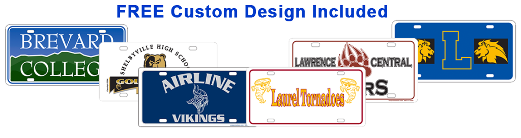 license plate fundraiser