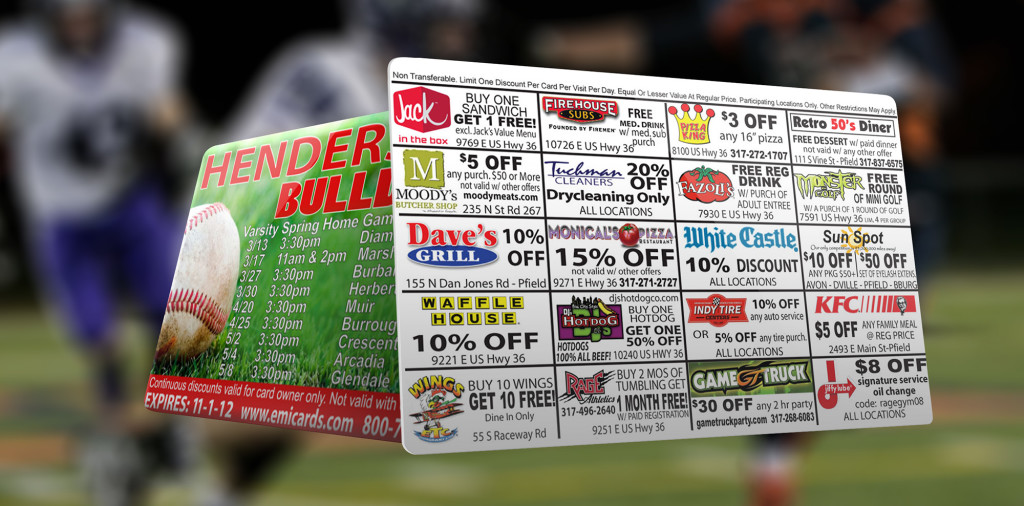 pro series discount card