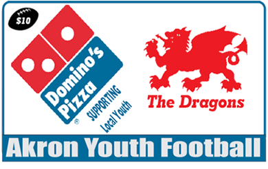 dominos pizza card fundraiser